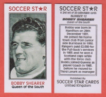 Queen of the South Bobby Shearer Scotland